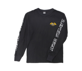 LOSER MACHINE ALLEWAY THERMAL SHIRT BLACK