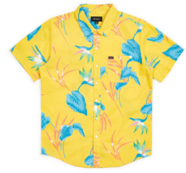 BRIXTON CHARTER SHIRT YELLOW