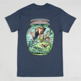RIETVELD MAGIC BOTTLE T SHIRT HEATHER NAVY