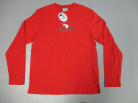 RIETVELD SNOW RODS LS T-SHIRT RED