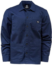 DICKIES CAPROCK SHIRT NAVY BLUE