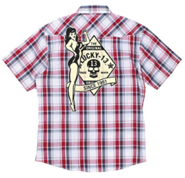 LUCKY 13 NO RIDERS WESTERNSHIRT