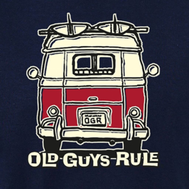 OLD GUYS RULE 'GOOD VIBES II' T-SHIRT  NAVY