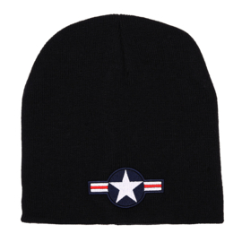 FOSTEX BEANIE STAR USA WWII BLACK