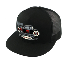 LUCKY 13 THE COUPE 13 TRUCKER HAT CAP