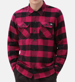 DICKIES SACRAMENTO SHIRT PINK BERRY
