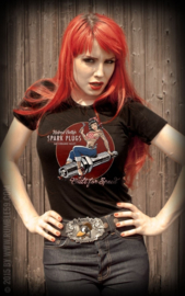 RUMBLE 59 T SHIRT BETTY S SPARKPLUGS