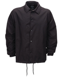 DICKIES TORRANCE COACH JACKET BLACK