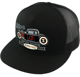 LUCKY 13 HAT CAP  THE COUPE 13 TRUCKER
