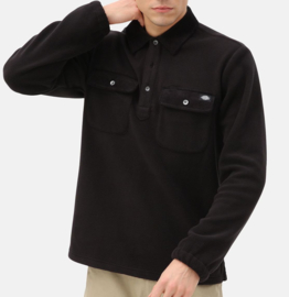 DICKIES MORGANZA POLO LONGSLEEVE BLACK