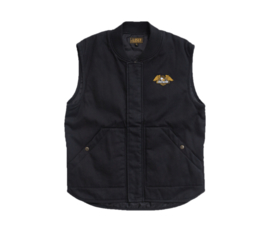LOSER MACHINE CONDOR II VEST DUSTY BLACK