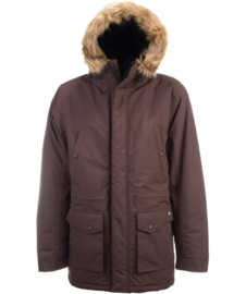 DICKIES CURTIS JACKET CHOCOLATE BROWN