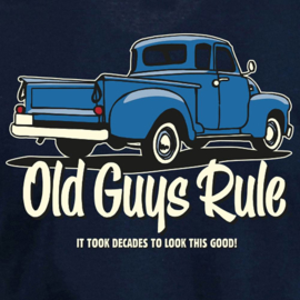 OLD GUYS RULE 'IT TOOK DECADES' T-SHIRT NAVY