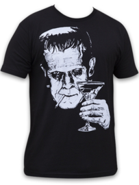 MONSTER MARTINI T SHIRT BY MIKE BELL