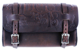 LUCKY 13 LEATHER TOOL POUCH ANTIQUE BROWN