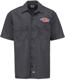DICKIES CLINTONDALE WORK SHIRT CHARCOAL
