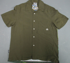 RIETVELD MOBY SHIRT OLIVE GREEN