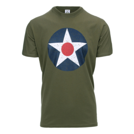 FOSTEX U.S. ARMY AIR CORPS T-SHIRT GREEN