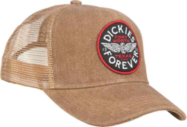 DICKIES ANDES SNAPBACK TRUCKER BROWN DUCK
