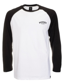 DICKIES BASEBALL T-SHIRT BLACK