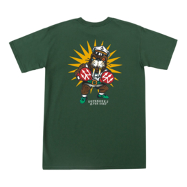 DARK SEAS DEFENDER PREMIUM T-SHIRT FOREST GREEN