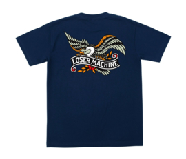 LOSER MACHINE GLORY BOUND T-SHIRT NAVY BLUE