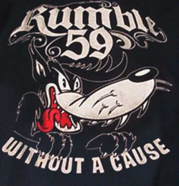 RUMBLE 59 WORKER SHIRT BIG BAD WOLF