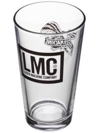 LOSER MACHINE PINT GLASS CLEAR