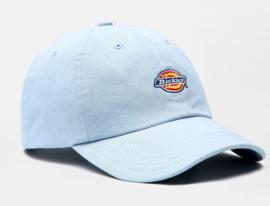 DICKIES HARWICK 6 PANEL SNAPBACK CAP FOG BLUE
