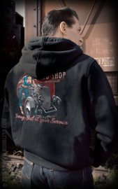 RUMBLE 59 HOODED ZIP BETTY S SPEED SHOP