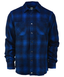 DICKIES LINVILLE SHIRT DARK TEAL