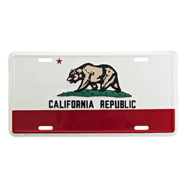 KENTEKENPLAAT CALIFORNIA REPUBLIC