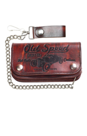 LUCKY 13 OLD SPEED EMBOSSED WALLET