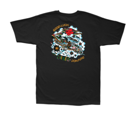 LOSER MACHINE SQUADRON T-SHIRT BLACK
