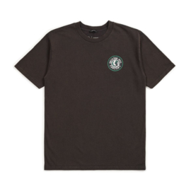 BRIXTON RIVAL II S/S STANDARD TEE WASHED BLACK/GREEN