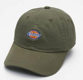 DICKIES HARDWICK SNAPBACK CAP  ARMY GREEN