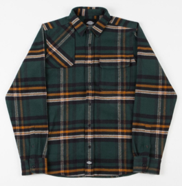 DICKIES PRESTONBURG LONGSLEEVE SHIRT FOREST