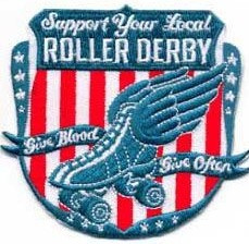 LUCKY 13 ROLLERDERBY PATCH