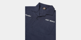 DICKIES HALMA SHIRT NAVY BLUE
