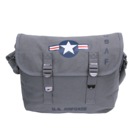 FOSTEX SHOULDER BAG / PUKKEL US AIR FORCE  GREY