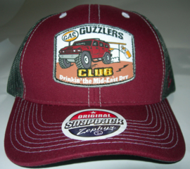 ZEPHYR TRUCKERCAP  GUZZLERS CLUB BILLBOARD