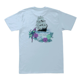 DARK SEAS AVALON PREMIUM TEE POWDER BLUE