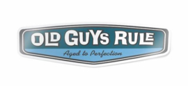 OLD GUYS RULE 'REAR VIEW' DECAL