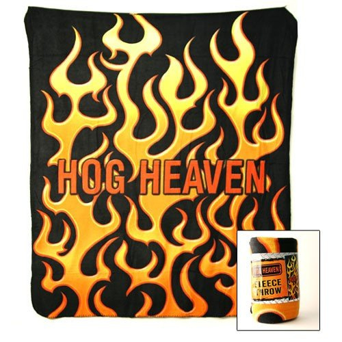 HOG HEAVEN FLEECE DEKEN