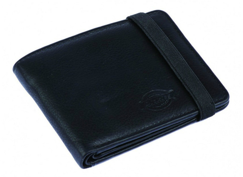 DICKIES WILBURN WALLET BLACK & BROWN