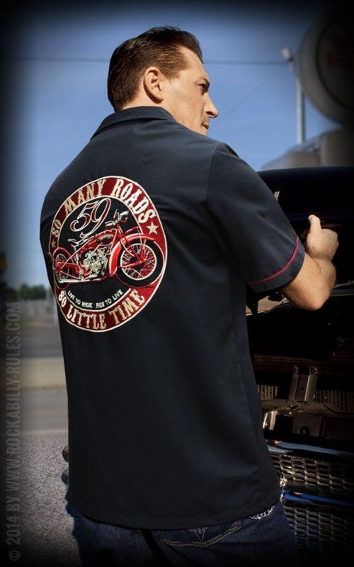 RUMBLE 59 WORKER SHIRT SO MANY ROADS