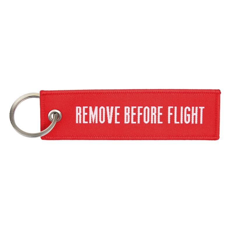 FOSTEX SLEUTELHANGER REMOVE BEFORE FLIGHT