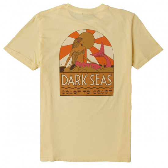 DARK SEAS COAST TO COAST   T SHIRT SANDSTONE