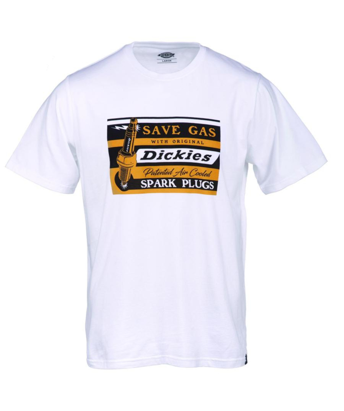 DICKIES JARRATT T-SHIRT WHITE