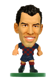 Soccerstarz voetbalpoppetje SERGIO BUSQUETS thuis shirt